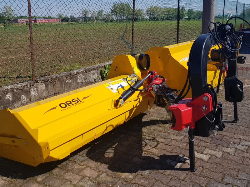 TRINCIATRICE LATERALE ORSI PRIMATIST PLUS GS OFF SET HARDOX 200
