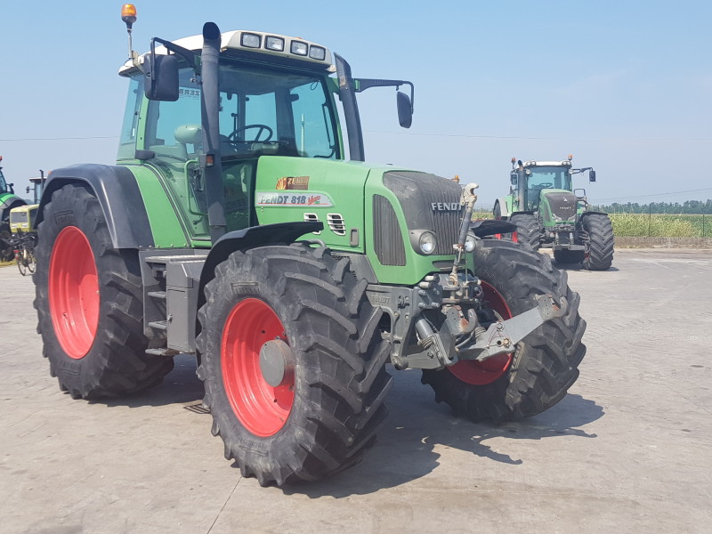 TRATTORE FENDT 818 TMS